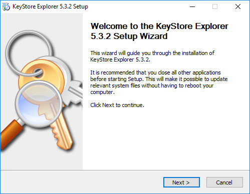 Beginng-the-Keystore-Explorer-installation Easy Way to Replace or Install Apache Tomcat SSL Certificate