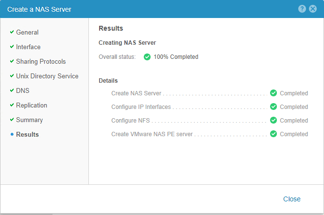 NAS-Server-is-created-successfully