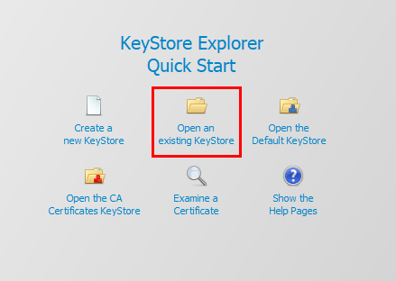Opening-a-keystore-file-in-Keystore-Explorer Easy Way to Replace or Install Apache Tomcat SSL Certificate