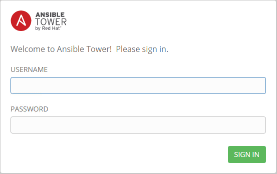 Browse-to-the-Ansible-Tower-web-interface Install and Configure Ansible Tower in Ubuntu Server