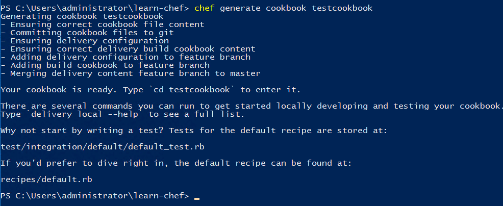 Generating-a-new-Chef-cookbook-for-automating-Windows Automating a Home Lab Windows Server with Chef