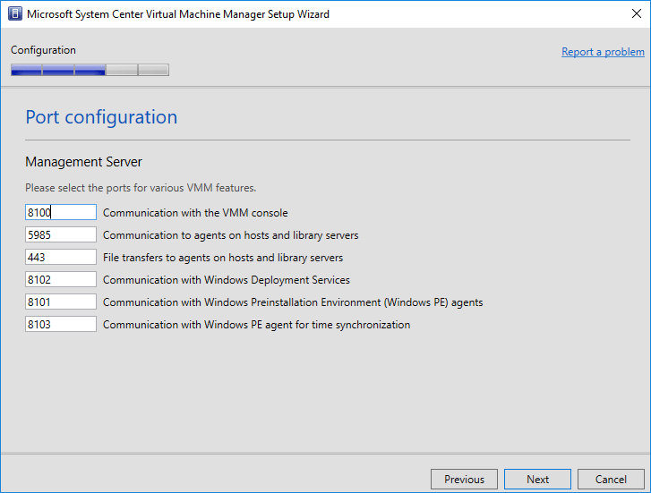 Network-port-configuration-for-SCVMM-1801 System Center Virtual Machine Manager 1801 New Features and Installation