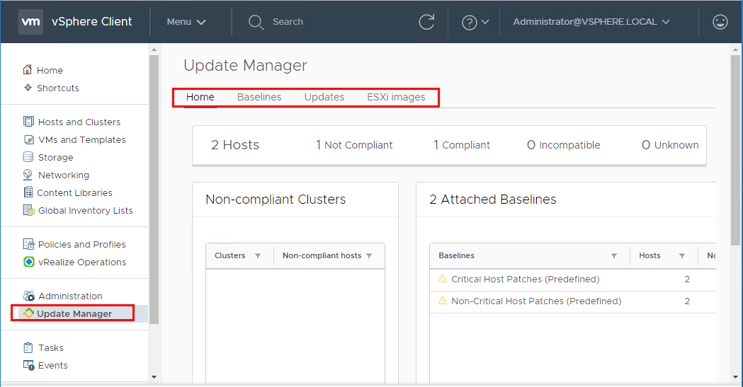 HTML5-Update-Manager-Home-in-vSphere-6.7-VCSA