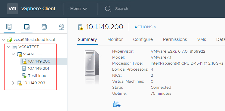 Both-vSAN-hosts-and-the-Witness-Node-were-upgraded-to-vSphere-ESXi-6.7 Upgrading VMware vSphere vSAN 6.6 to 6.7