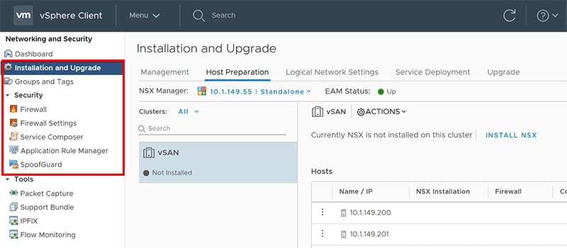New-HTML5-functioanlity-with-VMware-NSX-6.4.1 VMware NSX 6.4.1 Released New Features With vSphere 6.7 Support