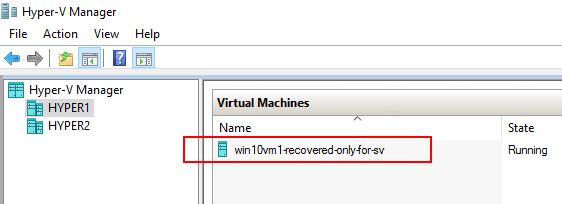Hyper-V-temporary-VM-created-for-screenshot-verification-on-the-target-container-host Verify Hyper-V Backups with NAKIVO Backup and Replication v7.4 Screenshot Verification