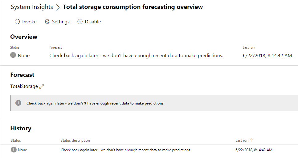Total-Storage-Consumption-Forecasting-in-Windows-Server-System-Insights Windows Server System Insights Predictive Analytics Installation and Features