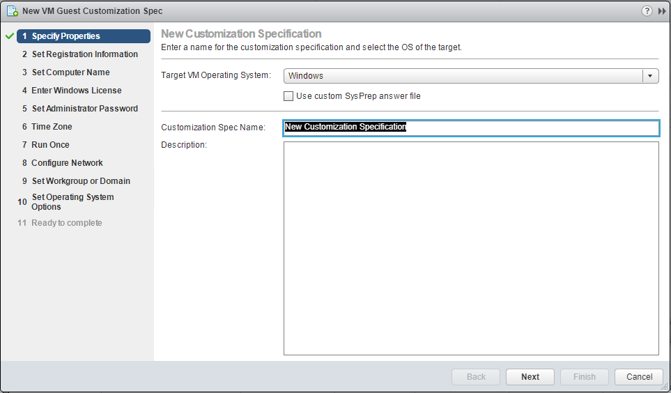 VMware-VM-Guest-Customization-Specification Sysprep and VMware Guest Customization with Terraform