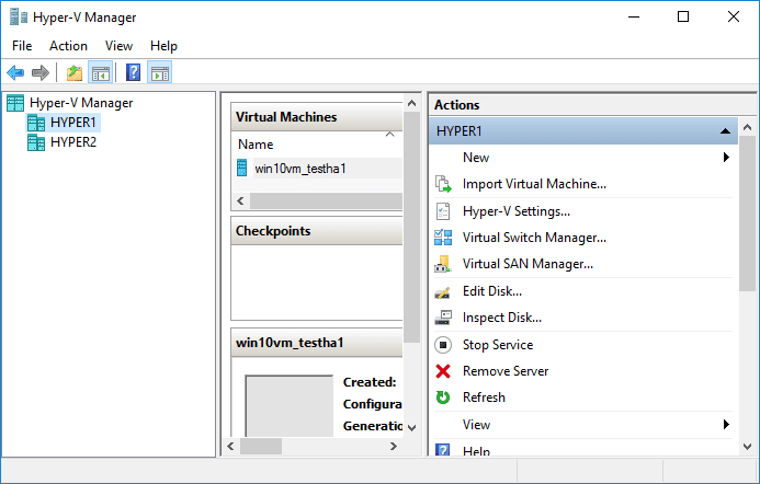Creating-a-new-virtual-machine-in-Hyper-V-Manager Creating High Availability Hyper-V Virtual Machines