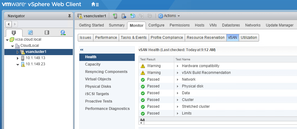 Finished-Move-VMware-vSAN-6.7-Stretched-Cluster-to-Different-vCenter-Server Move VMware vSAN 6.7 Stretched Cluster to Different vCenter Server