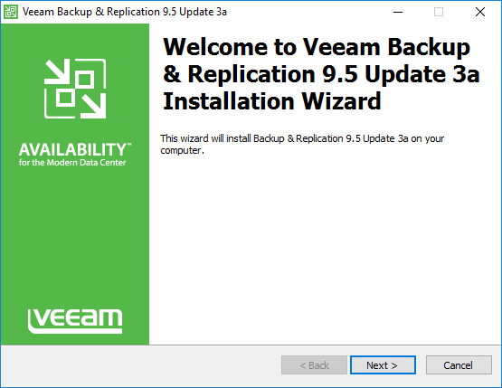 Launching-the-Veeam-Backup-Replication-9.5-Update-3a-Installation-Wizard Veeam Backup and Replication 9.5 Update 3a with VMware vSphere 6.7 Support