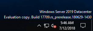 Windows-Server-2019-17709-Build-Information-after-installation Windows Server 2019 Preview 17709 with New Hyper-V Released