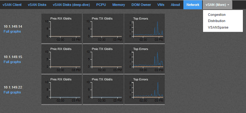 vSAN-Observer-Network-menu-and-other-options Monitoring VMware vSAN with vSAN Observer