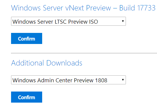 Obtaining-the-Window-Admin-Center-Preview-1808-Download Windows Admin Center Preview 1808 Hyper-V Cluster and VM Management New Features