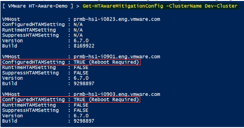 Running-the-VMware-HTA-Mitigation-Tool-scanning-for-Foreshadow-Mitigation