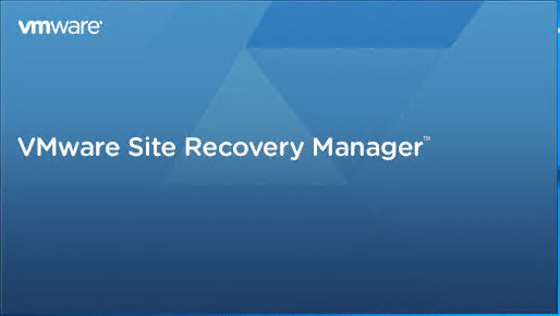 Site-Recovery-Manager-8.1-Installation-Begins Installing VMware vCenter Site Recovery Manager SRM 8.1