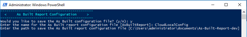 As-Built-Report-configuration-screen Automate VMware vSphere Documentation with PowerShell and PowerCLI