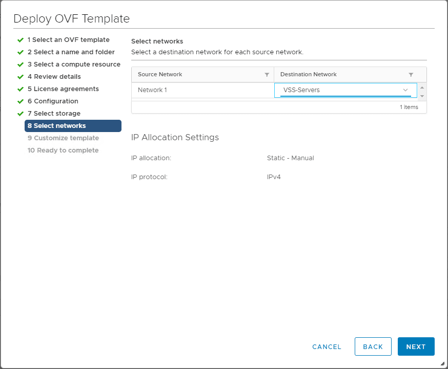 Configure-the-network-the-vRealize-Operations-7.0-appliance-is-connected-to VMware vRealize Operations 7.0 New Features Installation and Configuration