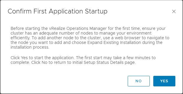 Confirm-First-Application-Startup-of-vRealize-Operations-7.0 VMware vRealize Operations 7.0 New Features Installation and Configuration