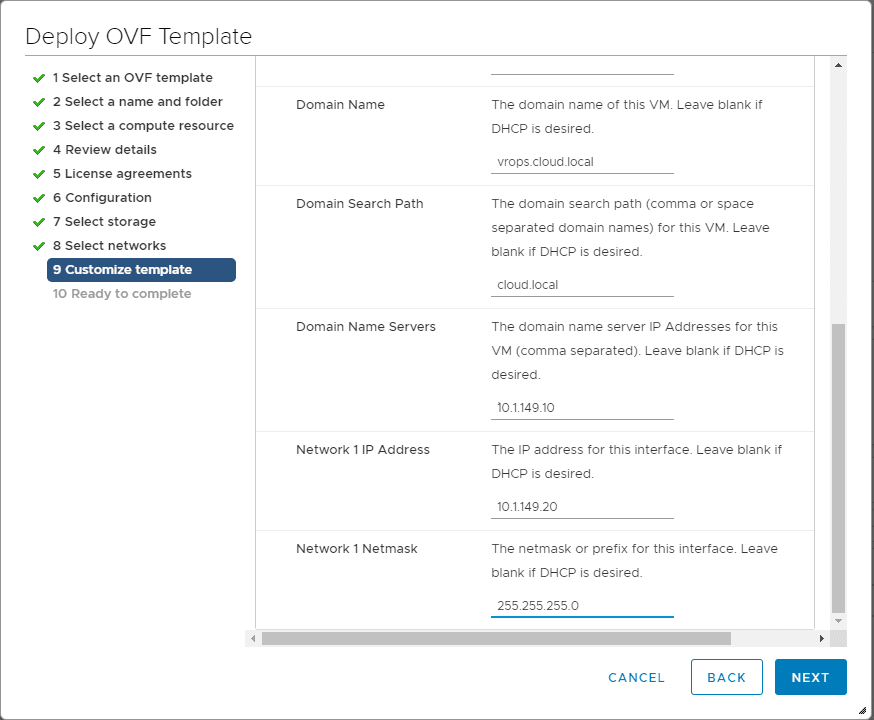Customize-the-vRealize-Operations-7.0-template VMware vRealize Operations 7.0 New Features Installation and Configuration