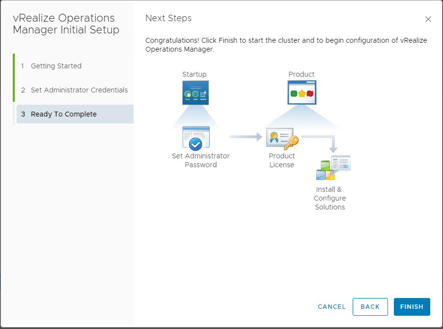 Ready-to-complete-the-express-installation-vRealize-Operations-7.0 VMware vRealize Operations 7.0 New Features Installation and Configuration