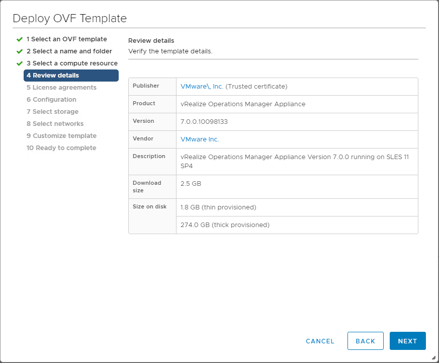 Review-the-initial-details-of-the-vRealize-Operations-7.0-appliance VMware vRealize Operations 7.0 New Features Installation and Configuration
