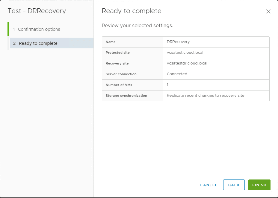 Testing-a-Disaster-Recovery-Plan-with-VMware-Site-Recovery-Manager-SRM-8.1 Testing a Disaster Recovery Plan with VMware Site Recovery Manager SRM 8.1