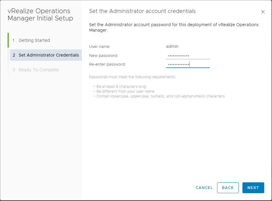 vRealize-Operations-7.0-Express-Installation-Admin-Credentials VMware vRealize Operations 7.0 New Features Installation and Configuration