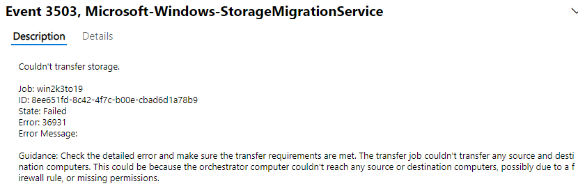 Event-log-error-with-the-Storage-Migration-Service