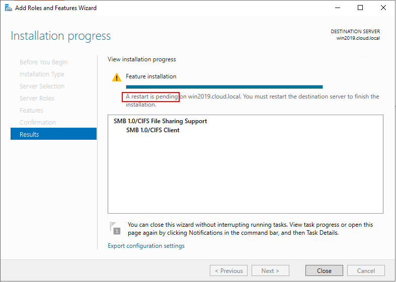 Migrate from Windows Server 2003 to Windows Server 2019 with Storage