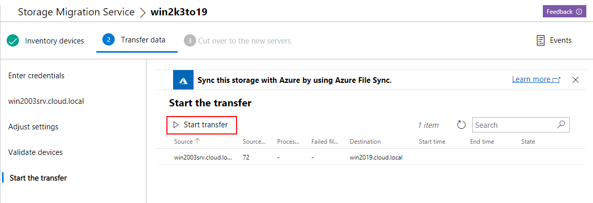 Start-the-transfer-of-files-from-the-2003-server-to-the-Windows-Server-2019-server