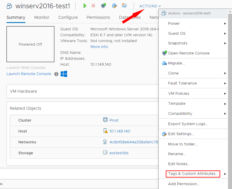 Assigning-a-tag-to-a-virtual-machine-in-VMware-vSphere-6.7-Update-1 NAKIVO Backup and Replication v8.1 Beta Released with Policy-Based Data Protection