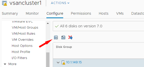 Claim-Unused-Disks-for-VMware-vSAN Replacing VMware vSAN Cache Disk and Resyncing vSAN Objects