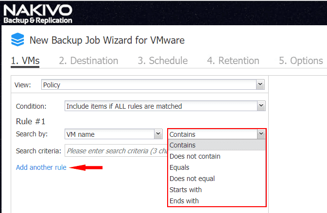Configuring-the-logic-for-the-search-by-policy-based-data-protection-in-NAKIVO-Backup-Replication-8.1 NAKIVO Backup and Replication v8.1 Beta Released with Policy-Based Data Protection