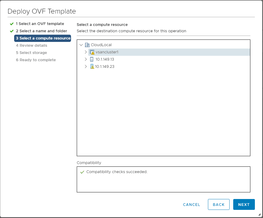 Select-a-compute-resource-for-the-Pivotal-Containers-Operations-Manager Getting Started with VMware Pivotal Container Service PKS PCF Ops Manager Install