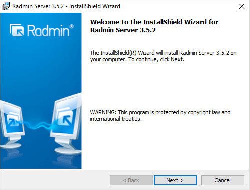 Radmin Windows 10 Remote Viewing Support and Console Control