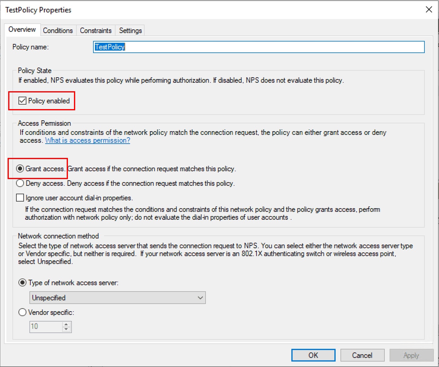 Overview-of-new-network-policy-in-Windows-Server-2019-NPS Installing Configuring Troubleshooting Windows Server 2019 NPS as RADIUS