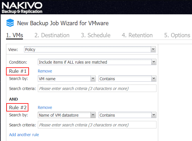 Policy-based-data-protection-supports-multiple-rules-in-NAKIVO-Backup-Replication-8.1-GA NAKIVO Backup and Replication v8.1 Released GA with New Features