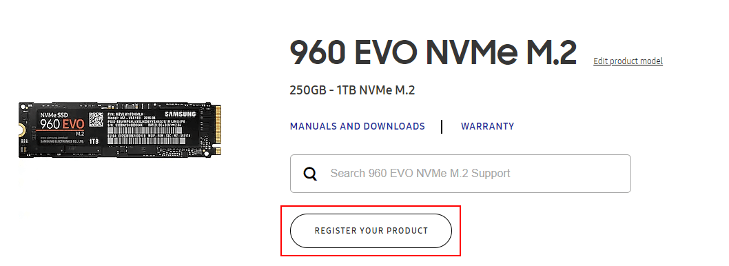 Registering-the-Samsung-NVMe-drive-for-RMA-repair-purposes Create Samsung NVMe SSD RMA Return Request Online