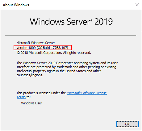 Verifying-the-Windows-Server-2019-upgrade-process-was-successful-on-a-domain-controller Upgrading Windows Server 2016 Domain Controller DC to Windows Server 2019