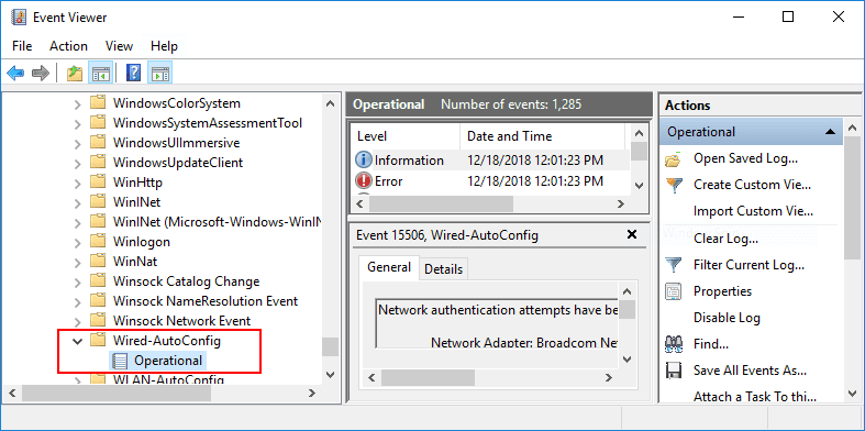 Wired-Autoconfig-Event-Viewer-logs-helps-in-troubleshooting-802.1X-in-Windows-10 Configure Windows 10 for 802.1X User Authentication