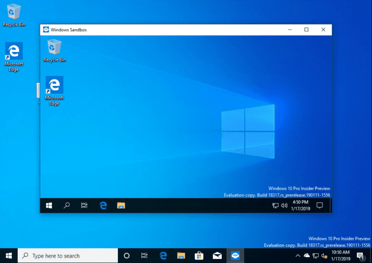 After-a-quick-close-and-reopen-Chrome-is-no-longer-installed Installing New Windows 10 Sandbox Feature Networking Resources Browsers Security