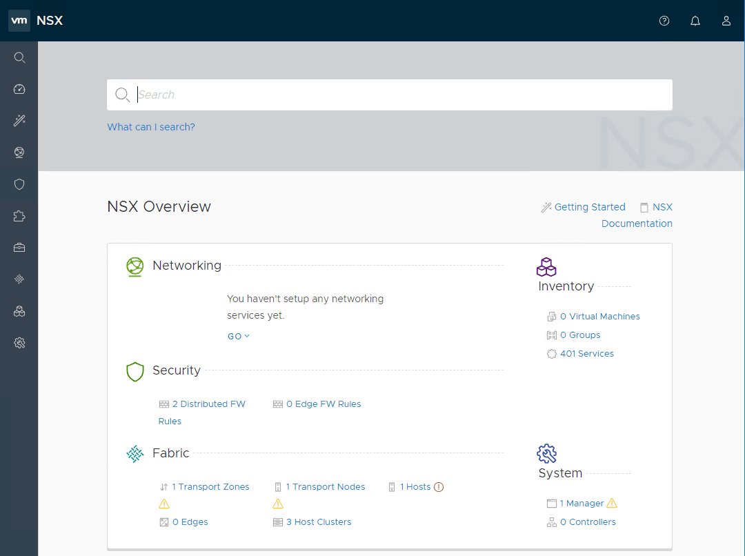After-logging-into-the-NSX-T-Manager-dashboard What is VMware NSX-T Manager Unified Appliance and Installation