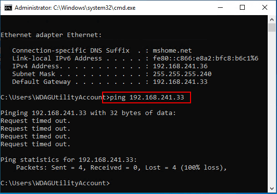 Cant-ping-the-NATed-interface-by-default-but-can-after-enabling-file-and-printer-sharing Installing New Windows 10 Sandbox Feature Networking Resources Browsers Security