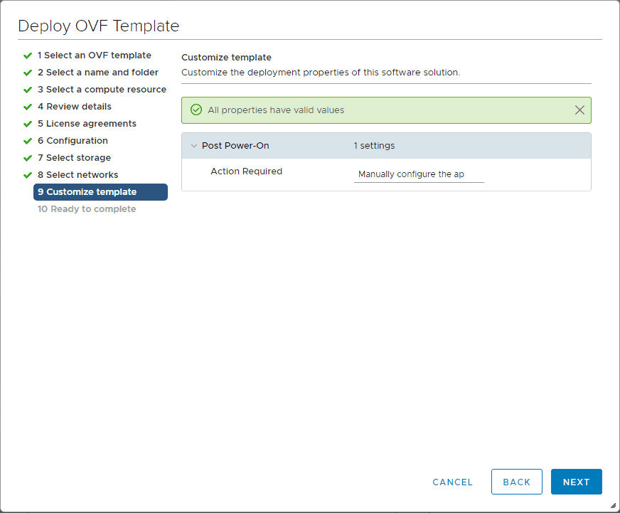Customize-the-vRNI-4.0-template Installing vRealize Network Insight 4.0 Platform and Proxy Appliances