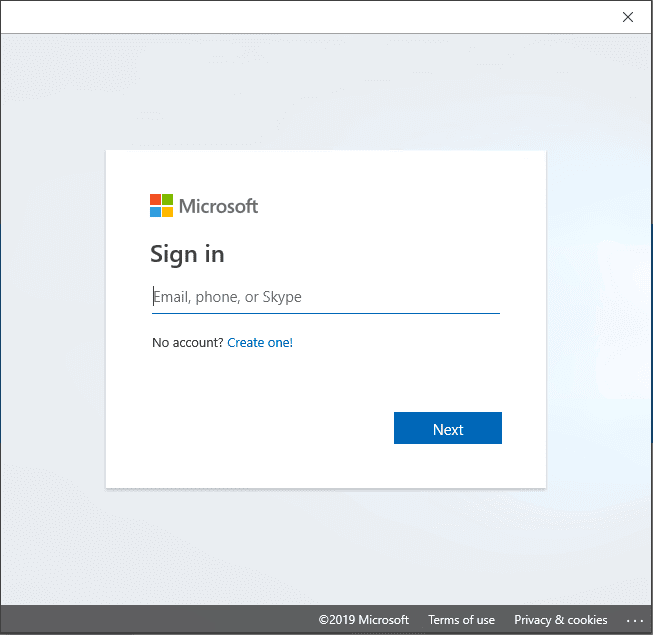 Enter-your-email-address-and-password-prompt-that-follows Installing Windows 10 Insider Preview 18317 New Features No ISO