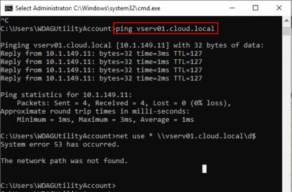Once-DNS-is-updated-can-ping-LAN-DNS-addresses-but-cant-map-drives Installing New Windows 10 Sandbox Feature Networking Resources Browsers Security