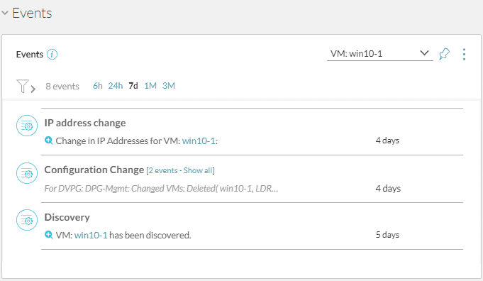 Virtual-Machine-Events-showing-easily-auditable-changes-from-Network-layer-for-PCI Scan PCI-DSS Network Security Compliance with VMware vRealize Network Insight 4.0