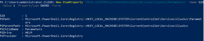 Adding-the-Windows-Server-2019-GA-Storage-Spaces-Direct-Registry-Key-workaround Windows Server 2019 GA Storage Spaces Direct Non-WSSD Certified Registry Key