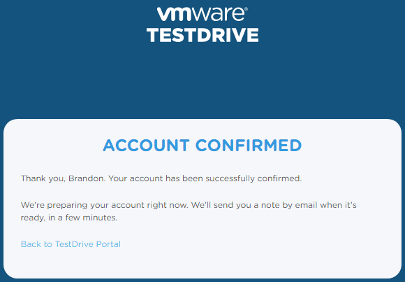 Confirmed-email-address-and-waiting-on-email-confirmation VMware TestDrive added to VMUG Advantage Subscriptions